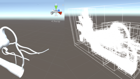 Unity3D AABB树-脑血管介入手术VR碰撞检测算法