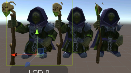 Unity3D客户端项目优化总结之LOD