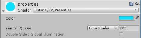 [译]Unity3D Shader教程(三)变量